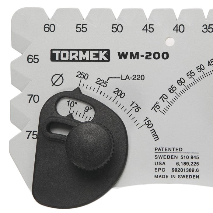 Tormek WM200 Adjustable Angle Setter Master for Grinding/Sharpening Systems