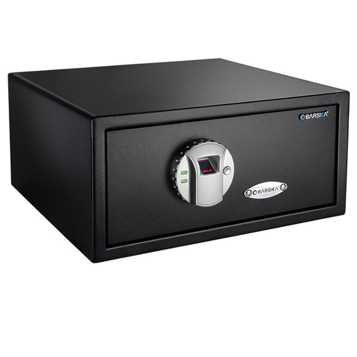 Barska AX11224 Steel Motorized Deadbolt Lock Biometric Fingerprint Safe