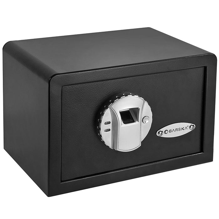 Barska Mini Biometric Fingerprint Lock Home Security Safe - AX11620