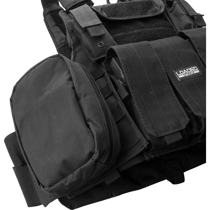 Barska BI12256 VX-300 Customizable Loaded Gear Black Tactical Vest