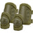 Barska BI12280 CX-400 Customizable Loaded Gear Green Elbow and Knee Pads