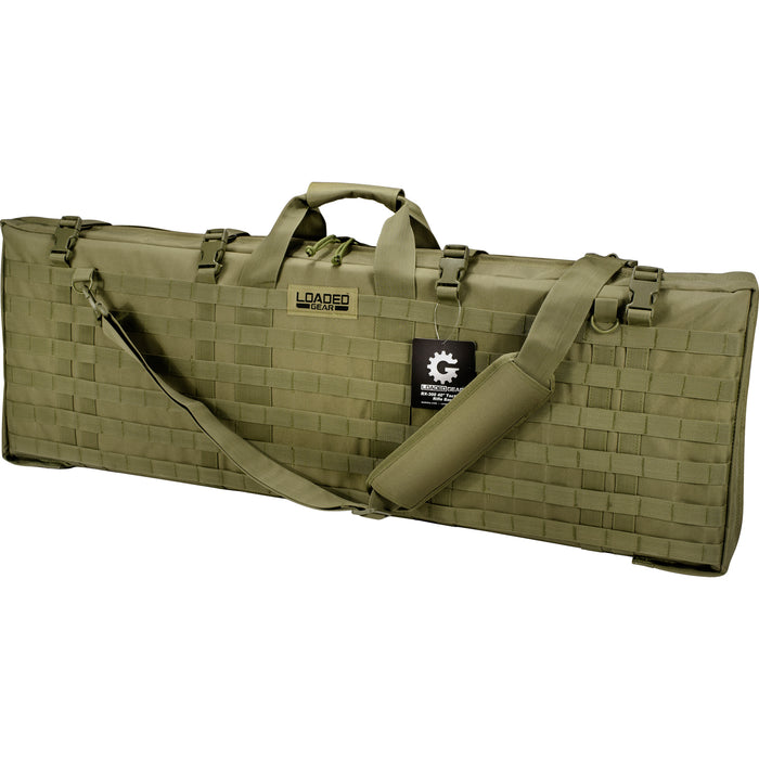 Barska BI12324 40-Inch RX-300 Customizable Loaded Gear Green Rifle Bag