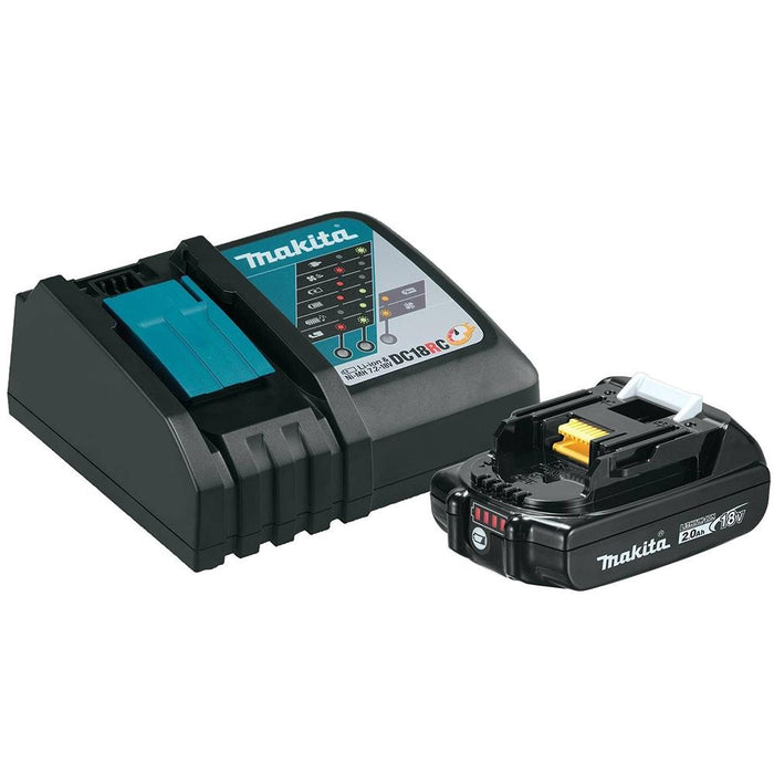 Makita BL1820BDC1 18-Volt 2.0Ah Compact Lithium-Ion Battery and Charger Kit