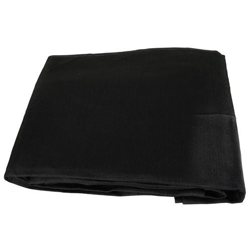 Black Mesh 15x30 Heavy Duty UV Screen Shade Canopy Patio Yard Tarp Sun Cover