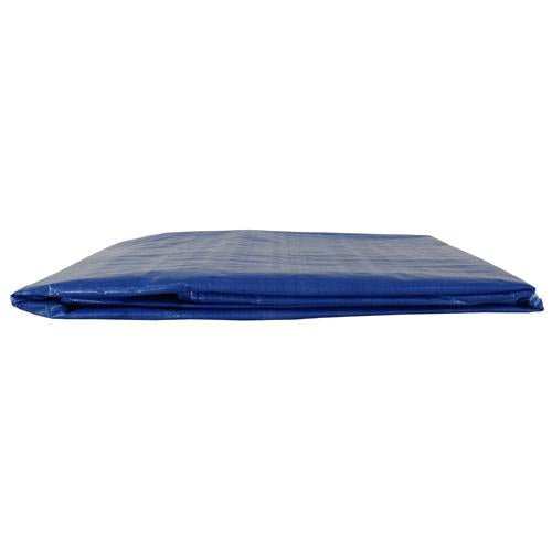Blue 24x24 Heavy Duty UV Protected Treated Canopy Sun Shade Boat Cover Tarp