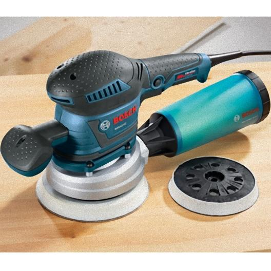 Bosch ROS65VC-6 120-Volt 6-Inch 3.3 Amp Rear-Handle Random Orbit Sander