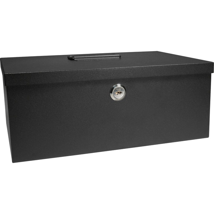 Barska CB11792 17-Inch 6 Compartment Cash Box and Coin Tray with Key Lock