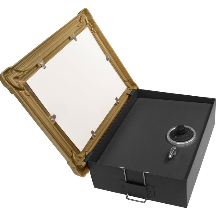 Barska CB11800 7-Inch Wall Mount Picture Frame Lock Box with Combination Lock