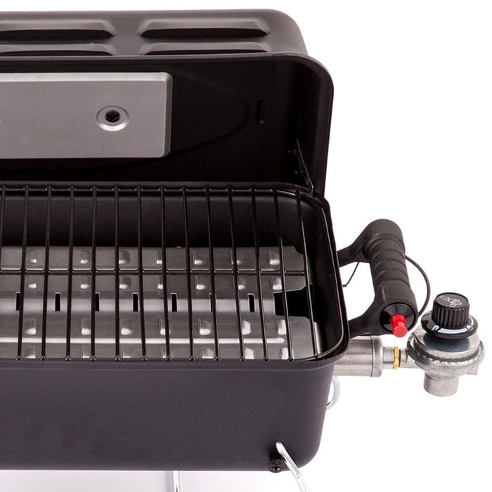 Char-Broil 190 Deluxe 1-Burner 11,000-Btu Portable Deluxe Gas Grill - 465620011