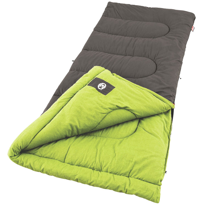 Coleman 2000004454 Durable Portable Duck Harbor Cool Weather Sleeping Bag