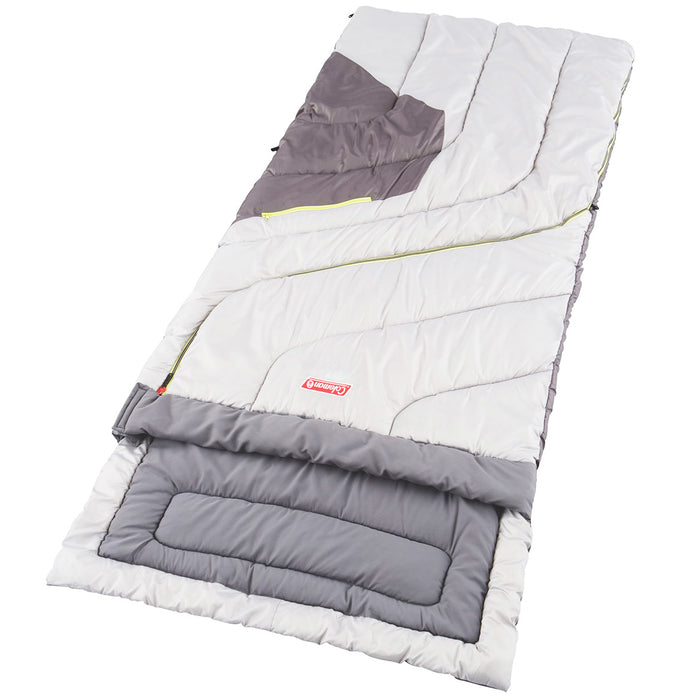 Coleman 2000008058 Durable Portable Adjustable Comfort Big and Tall Sleeping Bag