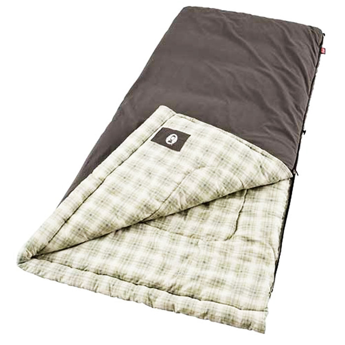 Coleman 2000008710 Durable Portable Comfort Heritage Big and Tall Sleeping Bag
