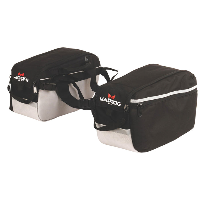 Coleman 2000012670 15.6 x 10 x 6.3-Inch Hook-and-Loop Motorcycle Saddle Bags