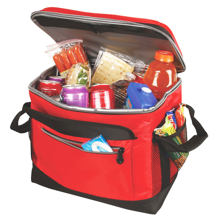 Coleman 2000013739 14 x 11.4 x 12.3-Inch 40-Cans Red Soft Coolapsible Cooler