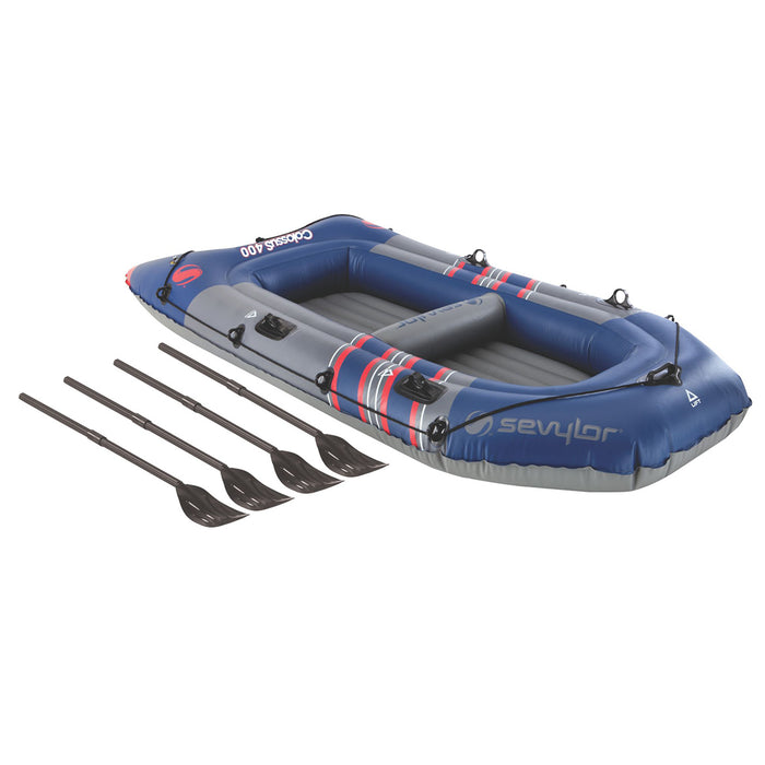 Coleman 2000014140 9-Foot x 4-Foot 4-Person Colossus Inflatable Boat