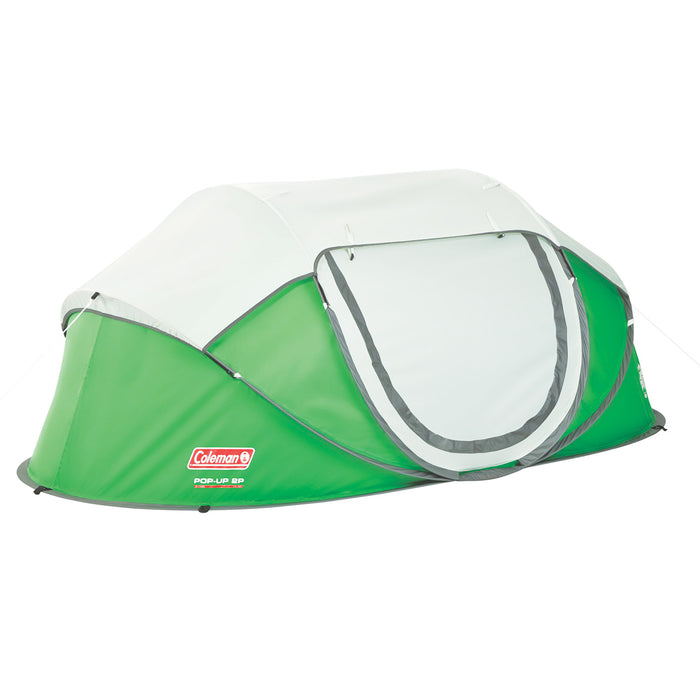 Coleman 2000014781 7-Foot x 4-Foot Multi-Position Pop-Up Tent - Green