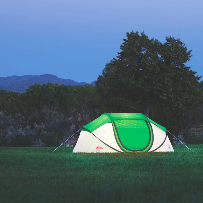 Coleman 2000014782 9-Foot x 6-Foot 4-Person Pre-Assembled Pop-Up Tent - Green
