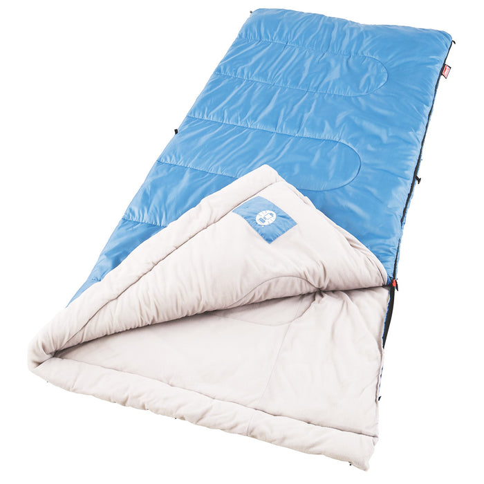 Coleman 2000016328 Durable Portable Comfort Polyester Sun Ridge Sleeping Bag