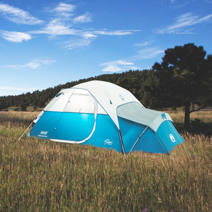 Coleman 2000018067 9-Foot x 7-Foot 4-Person Juniper Lake Instant Dome Tent -Blue