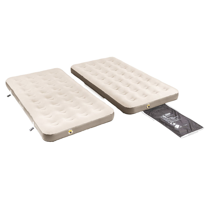 Coleman 4-in-1 Easystay Single High Inflatable Mattress Airbed  - Twin/King