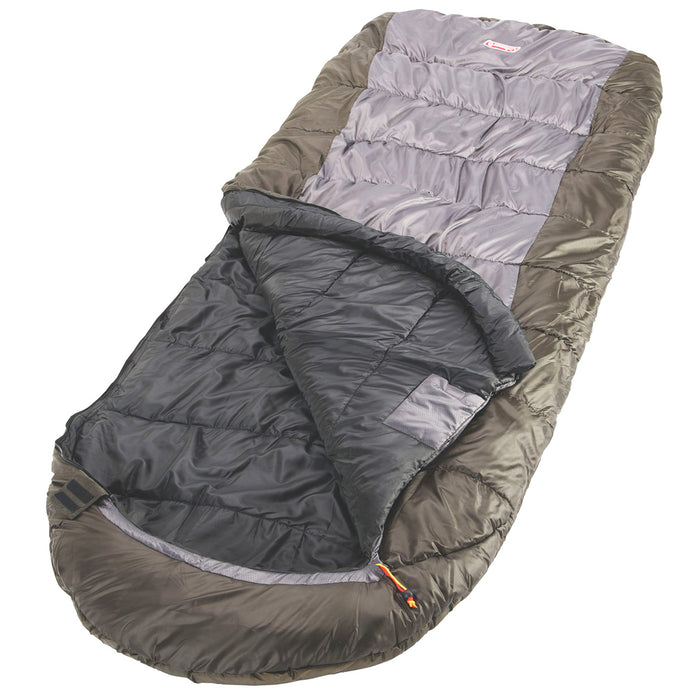 Coleman 2000032182 Durable Portable Comfort Big Basin Big and Tall Sleeping Bag