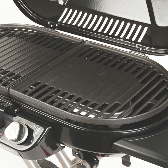 Coleman 2000019873 Cast Iron Durable Portable Roadtrip Swaptop Grill Grate