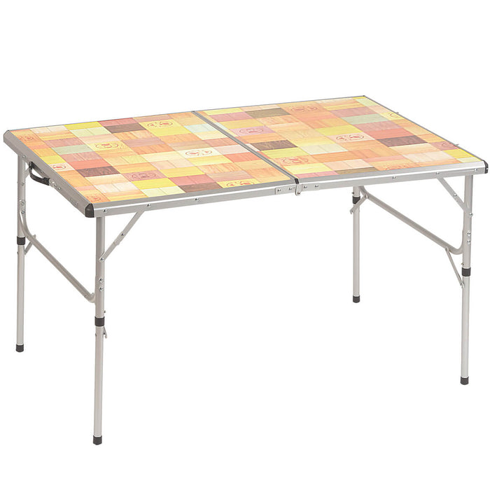 Coleman 2000020278 47-Inch x 31.5-Inch Aluminum frame Pack-Away Folding Table