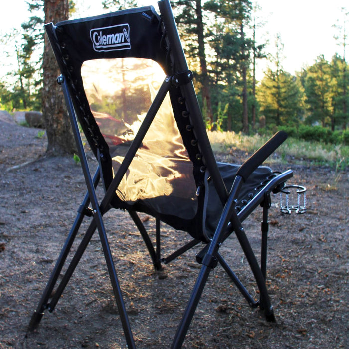 Coleman 2000020292 19.7-Inch Portable Folding Comfortsmart Suspension Chair
