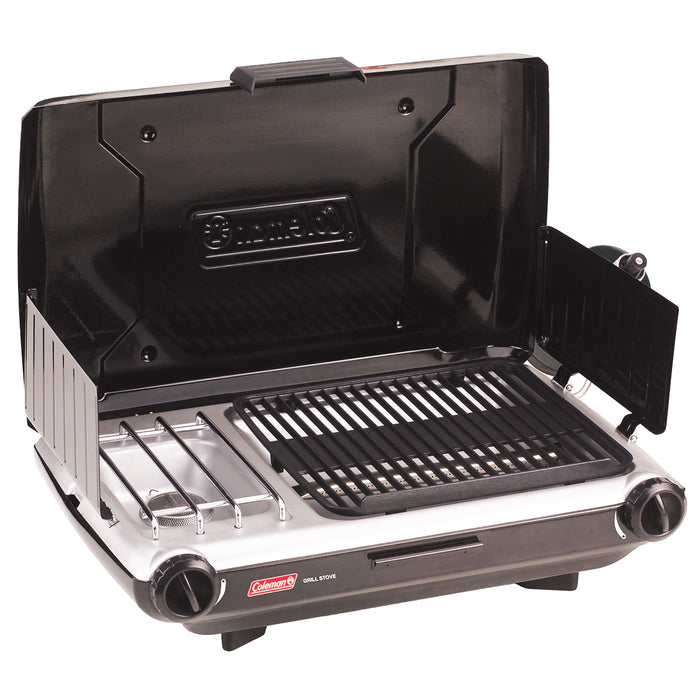 Coleman 2000020929 2-Burner 20,000 Btu Durable Portable Camp Propane Grill/Stove