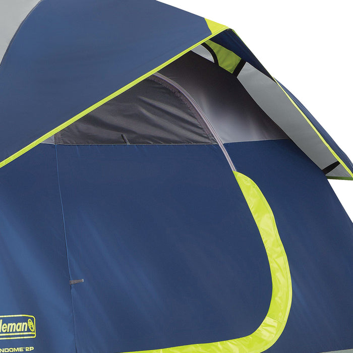 Coleman 2000024579 7-Foot x 5-Foot 2-Person Sundome Dome Tent - Blue