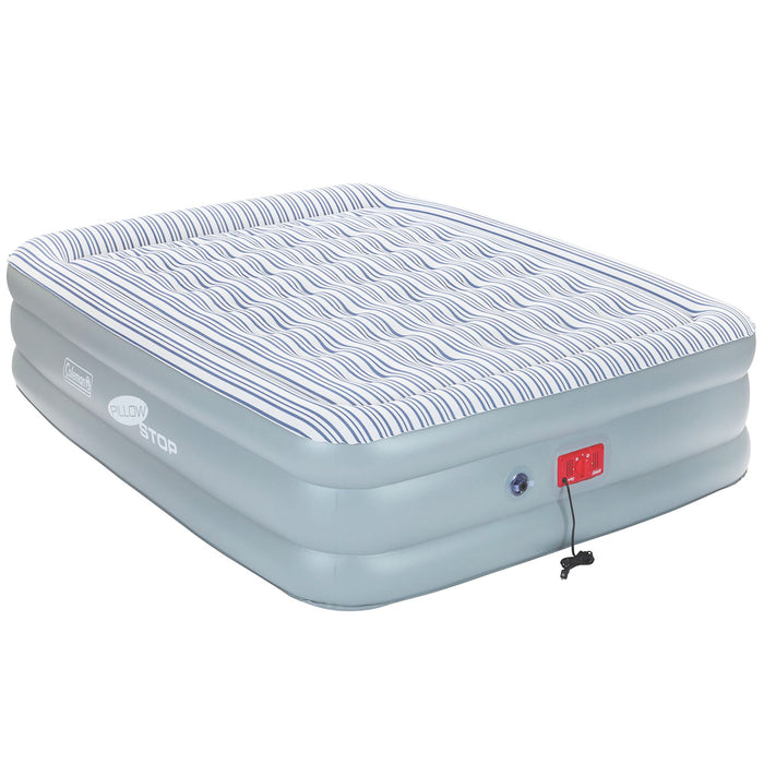 Coleman Supportrest Pillowstop Double High Inflatable Mattress Airbed  - Queen