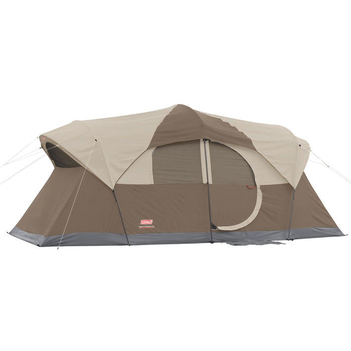 Coleman 2000028058 17-Foot x 9-Foot 10-Person Weathermaster Tent - Brown