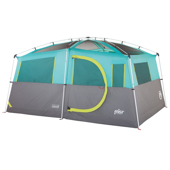 Coleman 2000029969 13-Foot x 9-Foot 8-Person Tenaya Lake Fast Pitch Tent - Blue