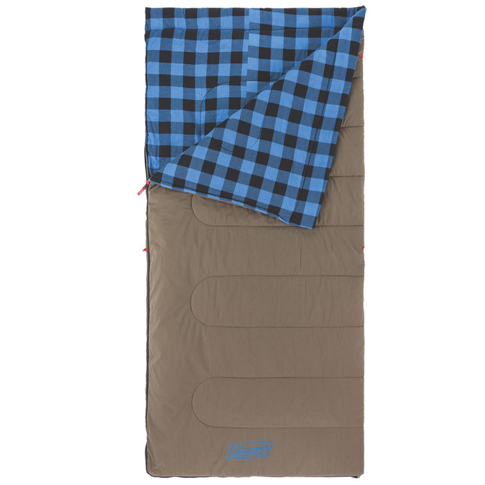 Coleman 2000030261 81-Inch x 39-Inch Autumn Trails 30 Sleeping Bag - Blue