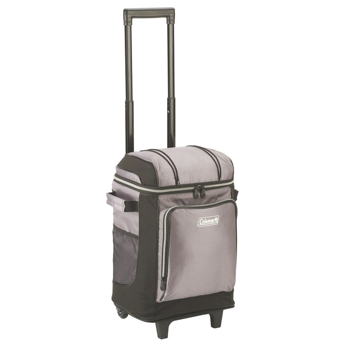 Coleman 3000001308 20 x 12 x 11-Inch 42-Cans Gray Wheel/Rolling Cooler w/ Liner
