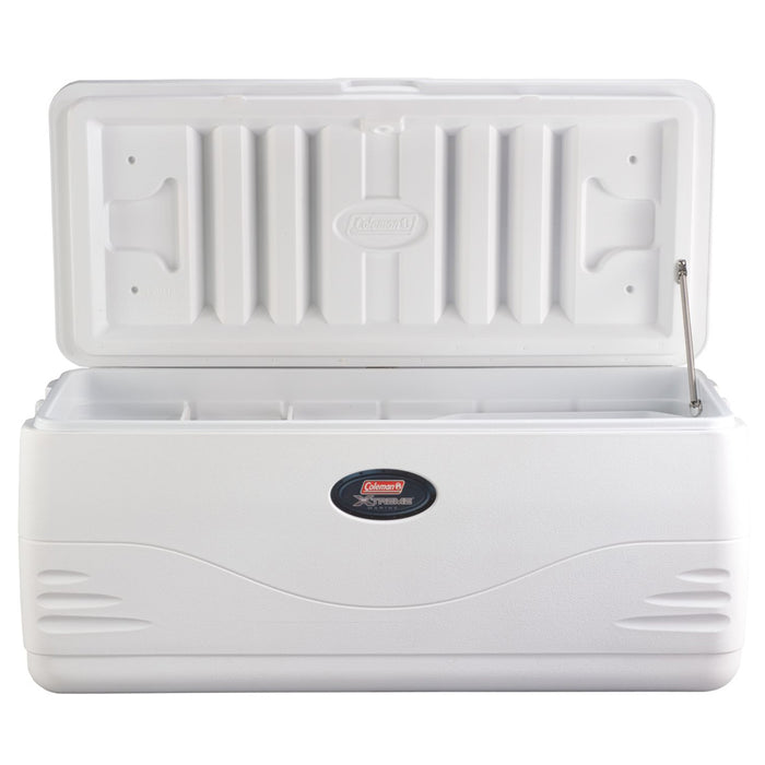 Coleman 3000001526 150-Quart Swing Handle Xtreme 5 Marine Cooler - White