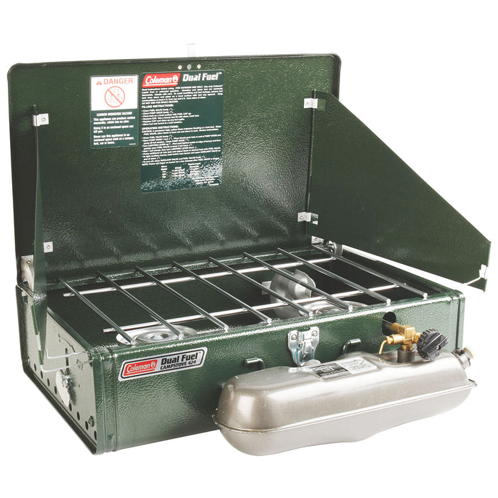 Coleman 3000003655 17000-Btu Dual-Fuel Guide Series Powerhouse 414 Stove