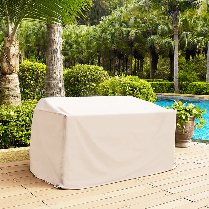 Crosley CO7501-TA Heavy-Gauge Reinforced Vinyl Outdoor Loveseat Furniture Cover