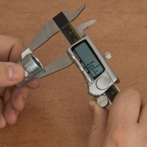 "Carrera Precision 8"" Titanium Fractional Digital Caliper Micrometer - CP9808-TF"