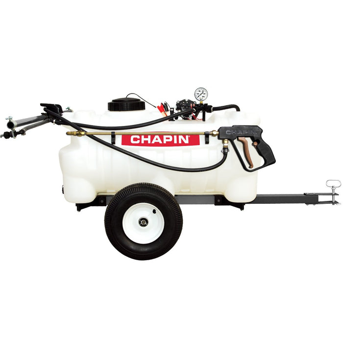 Chapin 97700 12-Volt 25 Gallon Heavy Duty EZ Tow Tank Dripless Sprayer