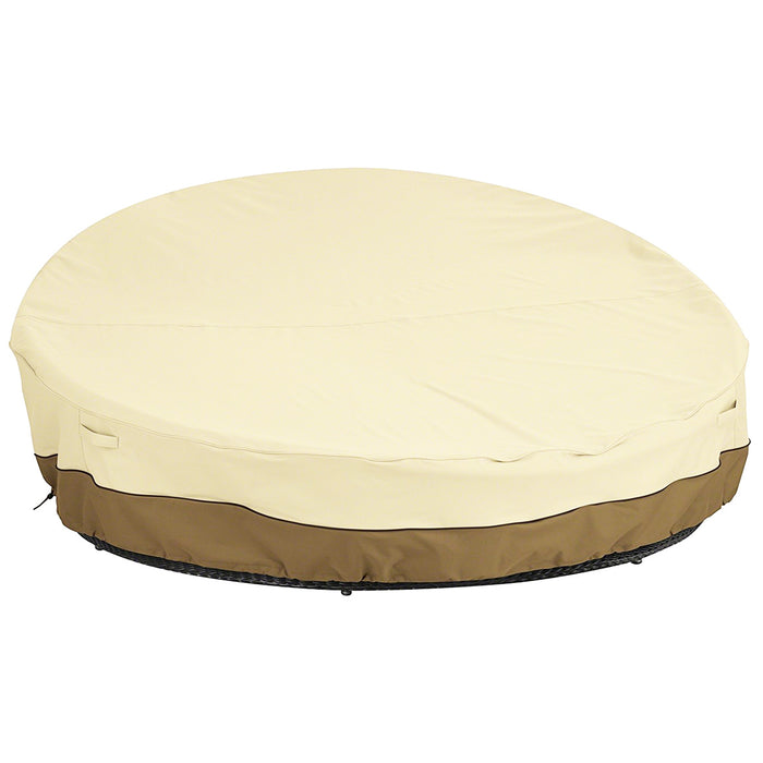 Classic Accessories 55-872-031501-00 90-Inch Veranda Round Outdoor Daybed Cover