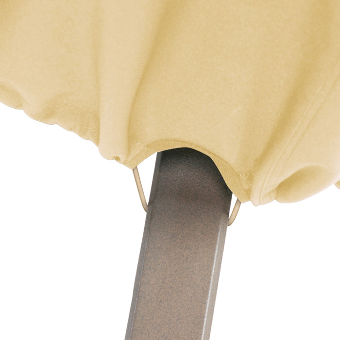 Classic Accessories 58932 Terrazzo Sand Heavy Duty High Back Patio Chair Cover