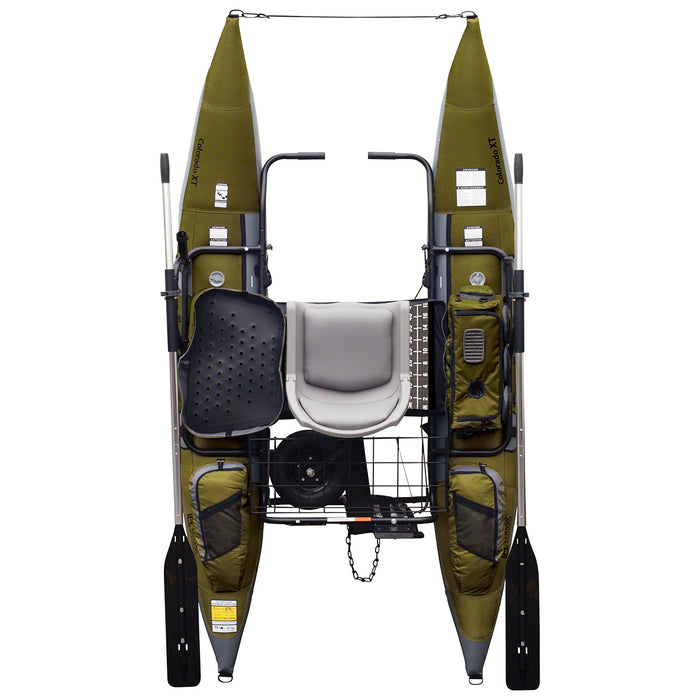 Classic Accessories 69770 9-Foot Sage Colorado XT Inflatable Pontoon Boat