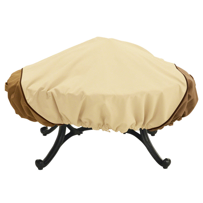 Classic Accessories 72942 Veranda Pebble Round Fire Pit Cover - Medium