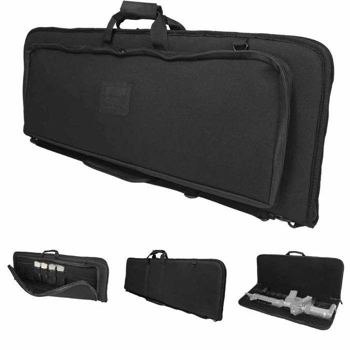 NcStar CVDRC2996B-36 VISM 36-Inch Deluxe Storage Carrying Rifle Case - Black