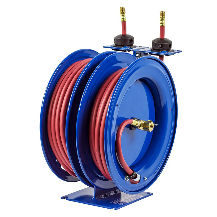 Coxreels C-LP-325-325 25-Foot 3/8-Inch Dual Purpose Spring Rewind Reel w/ Hose