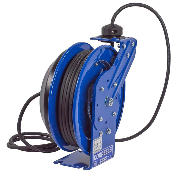 Coxreels PC13-3512-F 35-Foot Duplex Spring Rewind Power Cord Reel
