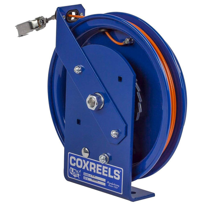 Coxreels SD-100 100-Foot Spring Rewind Static Discharge Cable Reel