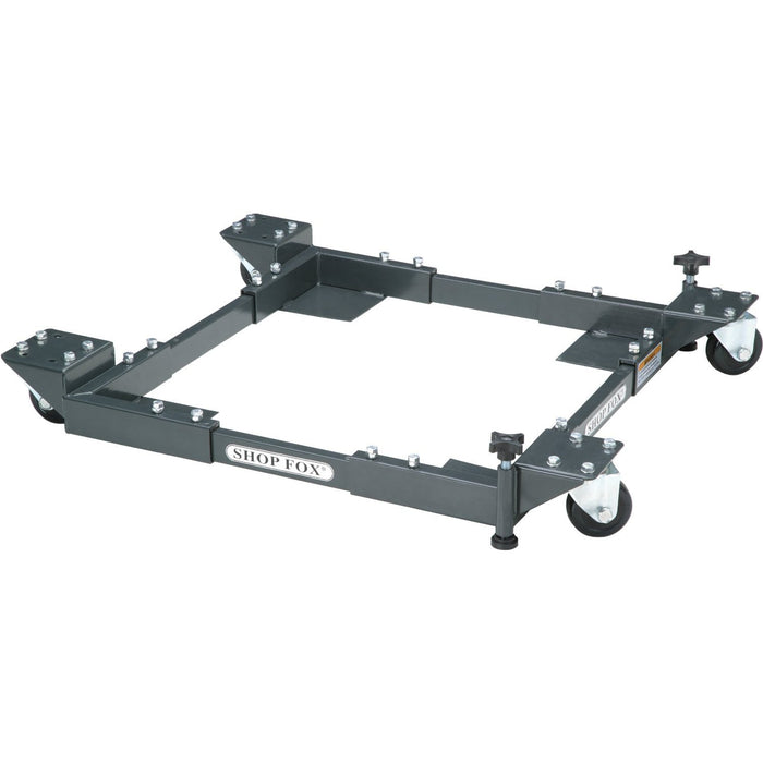 Shop Fox D2057A 700lb Capacity Adjustable Mobile Base - Heavy-Duty