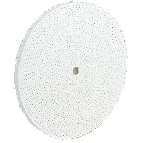 Shop Fox D2507 6-Inch by 60 Ply by 1/2-Inch Hole Buffing Wheel